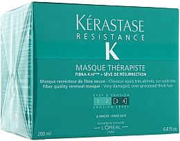Düfte, Parfümerie und Kosmetik Regenerierende Haarmaske für sehr strapaziertes Haar - Kerastase Resistance Therapist Renewal Mask