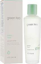 Düfte, Parfümerie und Kosmetik Gesichtswasser mit Grüntee-, Bambus- und Gurkenextrakt - It's Skin Green Tea Watery Toner