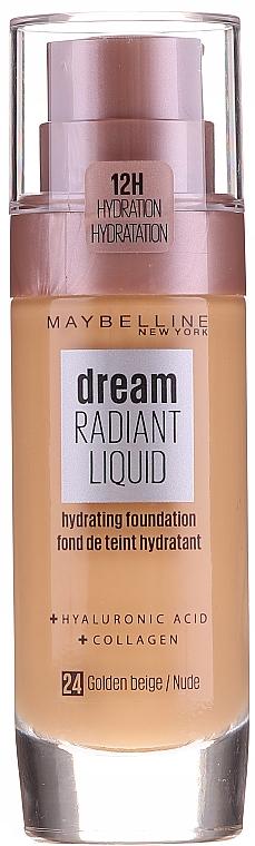 Feuchtigkeitsspendende Foundation - Maybelline New York Dream Radiant Liquid Hydrating Foundation