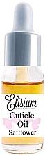 Düfte, Parfümerie und Kosmetik Nagelhautöl - Elisium Cuticle Oil Safflower