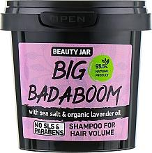 """Düfte, Parfümerie und Kosmetik Shampoo für mehr Volumen """"Big Badaboom"""" - Beauty Jar Shampoo For Hair Volume"""