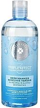 Düfte, Parfümerie und Kosmetik Nawilżająca woda micelarna z ekstraktem z ogórka - Green Feel's Triple Effect Intensively Moisturizing Micellar Water