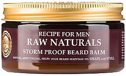 Düfte, Parfümerie und Kosmetik Bartbalsam - Recipe For Men RAW Naturals Storm Proof Beard Balm