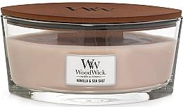 Düfte, Parfümerie und Kosmetik Duftkerze im Glas Vanilla & Sea Salt - Woodwick Sea Salt & Vanilla Scented Candle