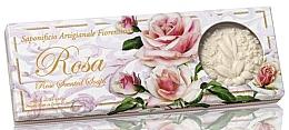 Düfte, Parfümerie und Kosmetik Naturseifenset Rose - Saponificio Artigianale Fiorentino Rosa Scented Soaps (Seife 3St. x125g)