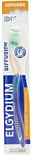Düfte, Parfümerie und Kosmetik Zahnbürste weich Diffusion grün - Elgydium Diffusion Soft Toothbrush