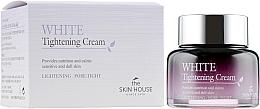 Düfte, Parfümerie und Kosmetik Aufhellende nährende, beruhigende und porenverengende Gesichtscreme für empfindliche und strumpfe Haut - The Skin House White Tightening Cream