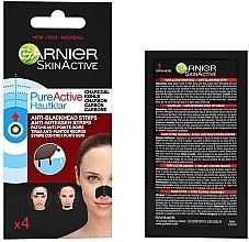 Düfte, Parfümerie und Kosmetik Nasenporenstreifen mit Aktivkohle - Garnier Skin Active Pure Active Anti-Blackhead Charcoal Strips
