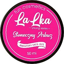 Düfte, Parfümerie und Kosmetik Creme-Mousse für den Körper mit Glitzer und Wassermelone - Lalka