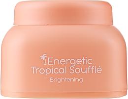 Düfte, Parfümerie und Kosmetik Aufhellende Gesichtscreme Tropisches Soufflé - Nacomi Energetic Tropical Souffle Brightening