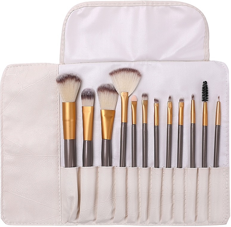 Make-up Pinselset in Etui 12 St. - Lewer