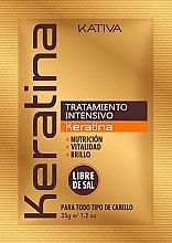 Düfte, Parfümerie und Kosmetik Intensiv Haarmaske mit Keratin - Kativa Keratina Intensive Treatment