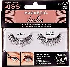 Düfte, Parfümerie und Kosmetik Magnetische Wimpern - Kiss Magnetic Lashes Double Strength KMEL 04 Tantalize