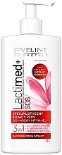 Düfte, Parfümerie und Kosmetik Beruhigendes Intim-Waschgel mit Milchsäure, Moosbeerextrakt und D-Panthenol - Eveline Cosmetics Lactimed+