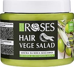 Düfte, Parfümerie und Kosmetik Intensiv regenerierende Haarmaske für trockenes und chemisch behandeltes Haar - Nature of Agiva Olives Liquid Gold Hair Mask