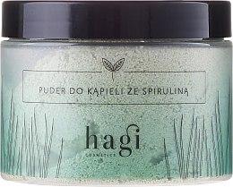 Düfte, Parfümerie und Kosmetik Badepuder mit Spirulina - Hagi Bath Puder