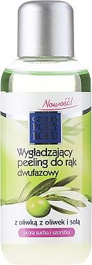 Zwei-Phasen-Handpeeling mit Olive - Pharma CF Cztery Pory Roku Olive Hand Two-Phase Peeling