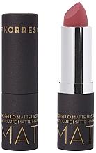 Düfte, Parfümerie und Kosmetik Mattierender Lippenstift - Korres Morello Matte Lipstick