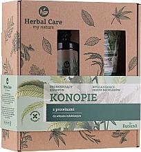 Düfte, Parfümerie und Kosmetik Haarpflegeset - Farmona Herbal Care (Haarshampoo 330ml + Haarserum 100ml)