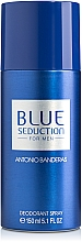 Düfte, Parfümerie und Kosmetik Blue Seduction Antonio Banderas - Deospray