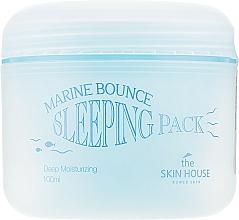 Düfte, Parfümerie und Kosmetik Tief feuchtigkeitsspendende Gesichtsmaske für die Nacht mit Meereskollagen und Algenextrakt - The Skin House Marine Bounce Sleeping Pack