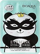 Düfte, Parfümerie und Kosmetik Schwarze Maske für die Haut rund um die Augen - Bioaqua Eye Mask Hydra Nourish