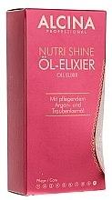 Düfte, Parfümerie und Kosmetik Pflegendes Elixir Haaröl - Alcina Nutri Shine Oil Elixir