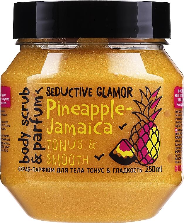 Glättendes Körperpeeling mit Ananas - MonoLove Bio Pineapple-Jamaica Tonus & Smoothness Scrub