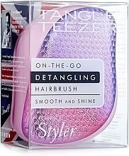 Düfte, Parfümerie und Kosmetik Kompakter Haarkamm pink - Tangle Teezer Compact Styler Sunset Pink