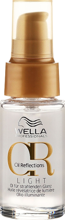 Leichtes Haaröl für Glanzreflexe in feinem bis normalem Haar - Wella Professionals Oil Reflection Light
