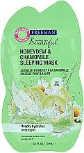 Düfte, Parfümerie und Kosmetik Gesichtsmaske für die Nacht mit Melone und Kamille - Freeman Feeling Beautiful Mask