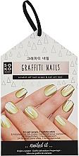 Düfte, Parfümerie und Kosmetik Nageldesign-Folie - Soko Ready Graffiti Nails
