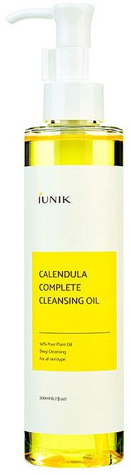Reinigungsöl für das Gesicht mit Ringelblume - IUNIK Calendula Complete Cleansing Oil
