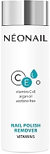 Düfte, Parfümerie und Kosmetik Acetonfreier Nagellackentferner mit Arganöl, Vitamin C und E - NeoNail Professional Nail Polish Remover