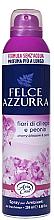 Düfte, Parfümerie und Kosmetik Duftendes Raumerfrischer-Spray Kirschblüten und Pfingstrose - Felce Azzurra Fiori di Ciliegio e Peonia Spray