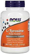 Düfte, Parfümerie und Kosmetik Nahrungsergänzungsmittel L-Tyrosin in Pulverform - Now Foods L-Tyrosine Powder