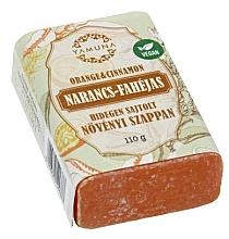 Düfte, Parfümerie und Kosmetik Mydło tłoczone na zimno Pomarańcza i cynamon - Yamuna Orange Cinnamon Cold Pressed Soap