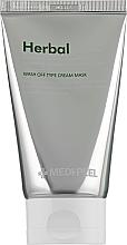 Düfte, Parfümerie und Kosmetik Beruhigende und entgiftende Peelingmaske für das Gesicht mit grünem Tee und Peptiden - Medi Peel Herbal Peel Tox