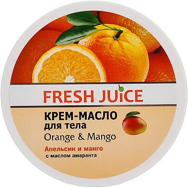 Körpercreme-Butter mit Orange und Mango - Fresh Juice Orange & Mango
