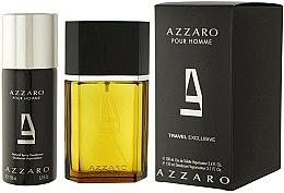 Düfte, Parfümerie und Kosmetik Azzaro Pour Homme Travel - Duftset (Eau de Toilette 100ml + Deodorant Spray 150ml)