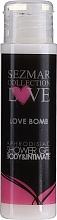 Düfte, Parfümerie und Kosmetik Duschgel mit Aphrodisiaka - Sezmar Collection Love Love Bomb Aphrodisiac Shower Gel (Mini)