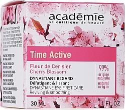 Düfte, Parfümerie und Kosmetik Augenkonturcreme mit glättender Wirkung und Kirschblüten 25+ - Academie Time Active Cherry Blossom Dynastiane Eye First Care