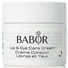 Düfte, Parfümerie und Kosmetik Pflegende Anti-Falten Augen- und Lippenkonturcreme - Babor Skinvoage PX Sensational Lip & Eye Care Cream