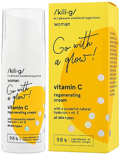 Regenerierende Gesichtscreme mit Vitamin C - Kili·g Woman Vitamin C Regenerating Cream