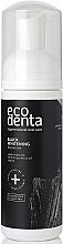 Düfte, Parfümerie und Kosmetik Erfrischender und aufhellender Mundschaum mit Eichenkohle - Ecodenta Black Whitening Mouthfoam