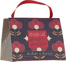 Düfte, Parfümerie und Kosmetik Körperpflegeset - Bath House Barefoot & Beautiful Magical Beauty Queen (Lippenbalsam Kirsche 15g + Badesalz Rote Beeren 100g)
