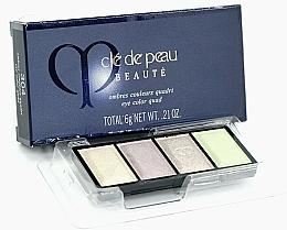 Düfte, Parfümerie und Kosmetik Lidschatten (Nachfüller) - Cle De Peau Beaute Eye Color Quad Refill