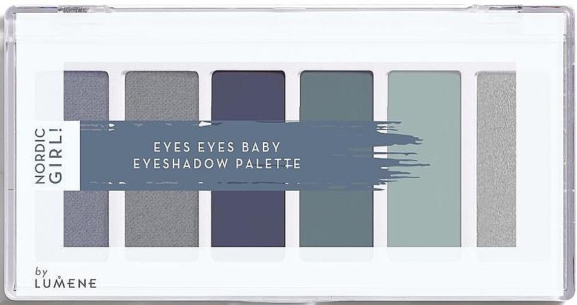 Lidschatten-Palette mit 6 Farben - Lumene Nordic Girl! Eyes Eyes Baby Eyeshadow Palette