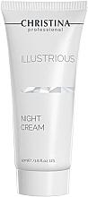 Düfte, Parfümerie und Kosmetik Aufhellende Nachtcreme - Christina Illustrious Night Cream