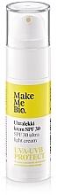 Düfte, Parfümerie und Kosmetik Extra leichte Gesichtscreme mit SPF 30 - Make Me Bio Ultra Light Face Cream SPF 30